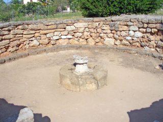 Capanna delle riunioni, Complesso di Palmavera - Alghero