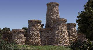 Ricostruzione 3D del Nuraghe Arrubiu, Orroli
