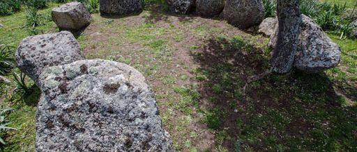 Noddule - Nuoro: Circolo megalitico